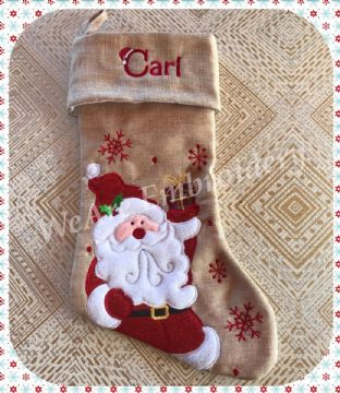 Hessian Stocking